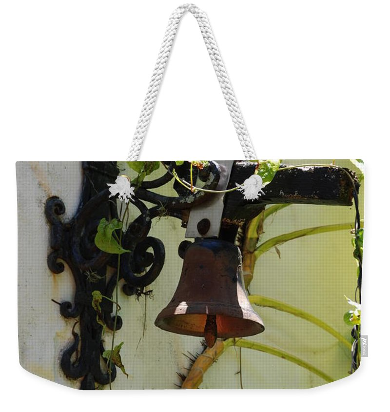 Architecture Weekender Tote Bag featuring the photograph Miami Monastery Bell by Rob Hans