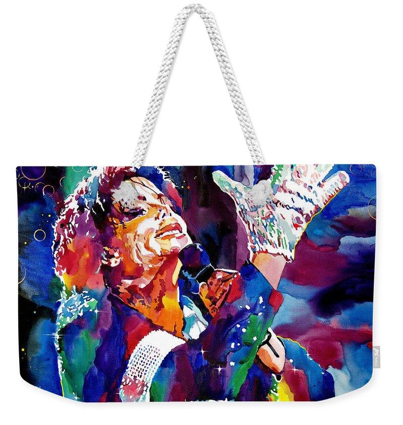 Michael Jackson Weekender Tote Bags