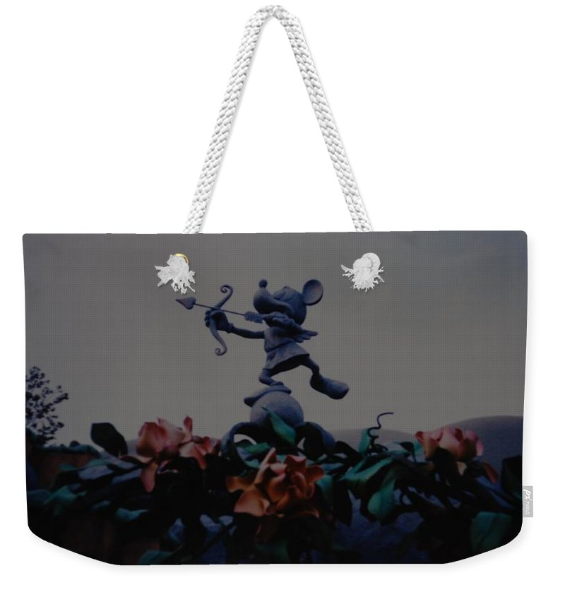 Micky Mouse Weekender Tote Bag featuring the photograph Mickey Mouse by Rob Hans