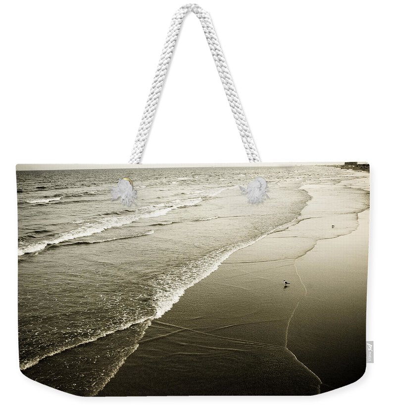 Ocean Weekender Tote Bag featuring the photograph Mid-summer Morning by Marilyn Hunt
