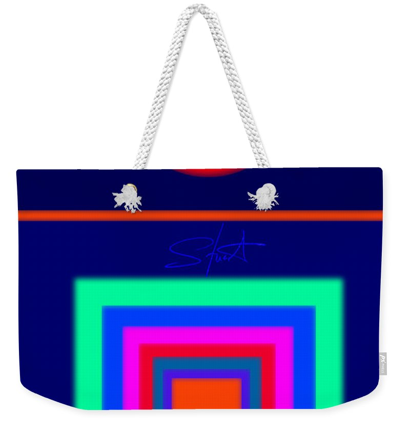 Classical Weekender Tote Bag featuring the digital art Midnight Journey by Charles Stuart