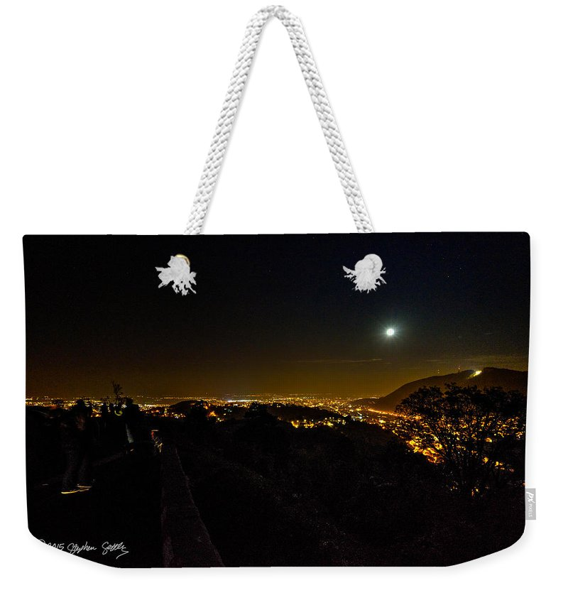 Romania Weekender Tote Bag featuring the photograph Midnite In Romania by Stephen Settles