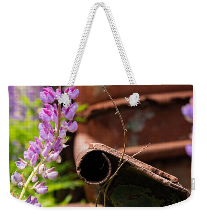 Maine Weekender Tote Bag featuring the photograph Mimicry by Holly Ross