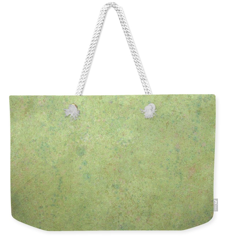 Minimal Weekender Tote Bag featuring the painting Minimal Number 1 by James W Johnson