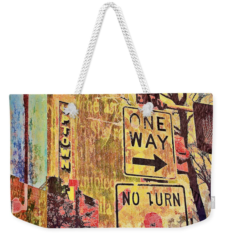 Uptown Minneapolis Art Weekender Tote Bag featuring the photograph Minneapolis Uptown Energy by Susan Stone