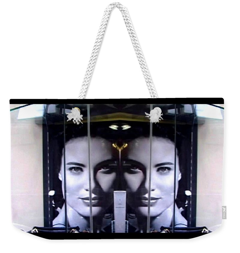 Dream Weekender Tote Bag featuring the photograph Mirror Image by Charles Stuart