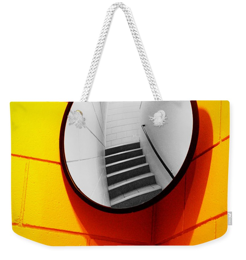 Mirror Weekender Tote Bag featuring the photograph Mirror Mirror On The Wall by Tara Turner