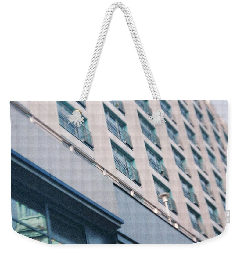Mirrored Weekender Tote Bag featuring the photograph Mirrored Berlin by Nacho Vega