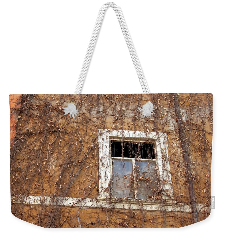 Missing Weekender Tote Bag featuring the photograph Missing The Leaves by Munir Alawi