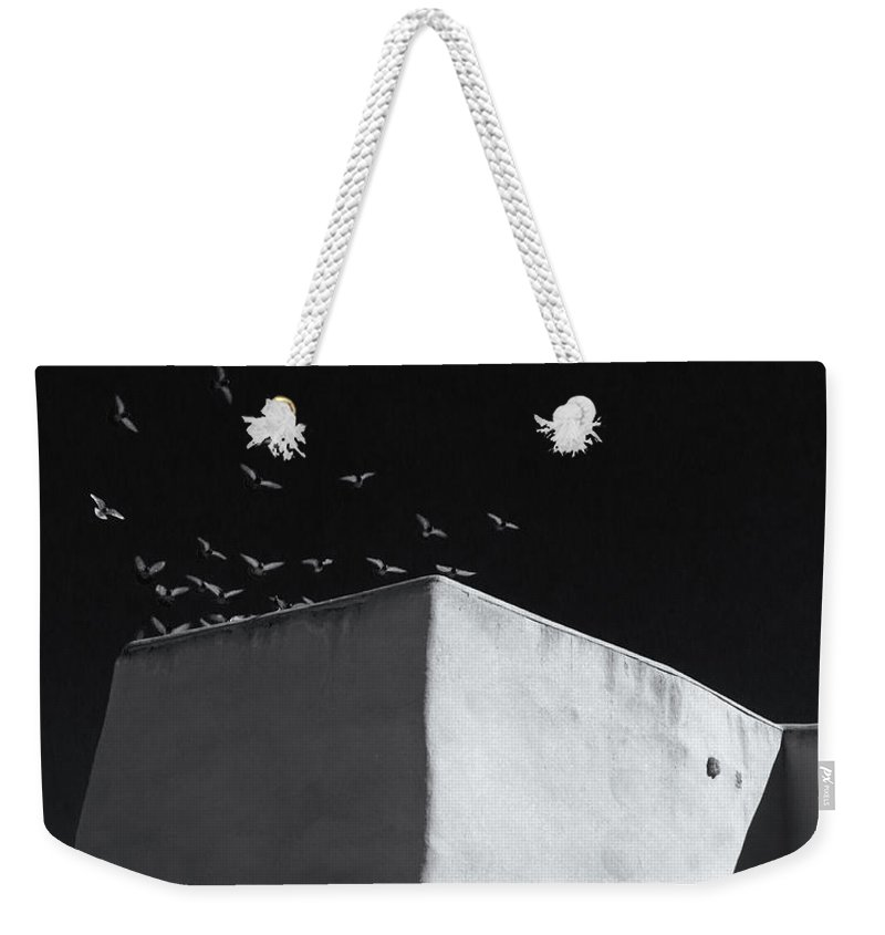 Mission Weekender Tote Bag featuring the photograph Mission Flight 3 by Nicholas Blackwell