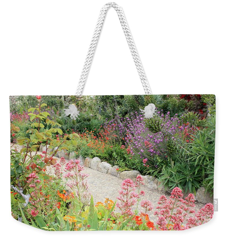 Garden Weekender Tote Bag featuring the photograph Mission Garden by Carol Groenen