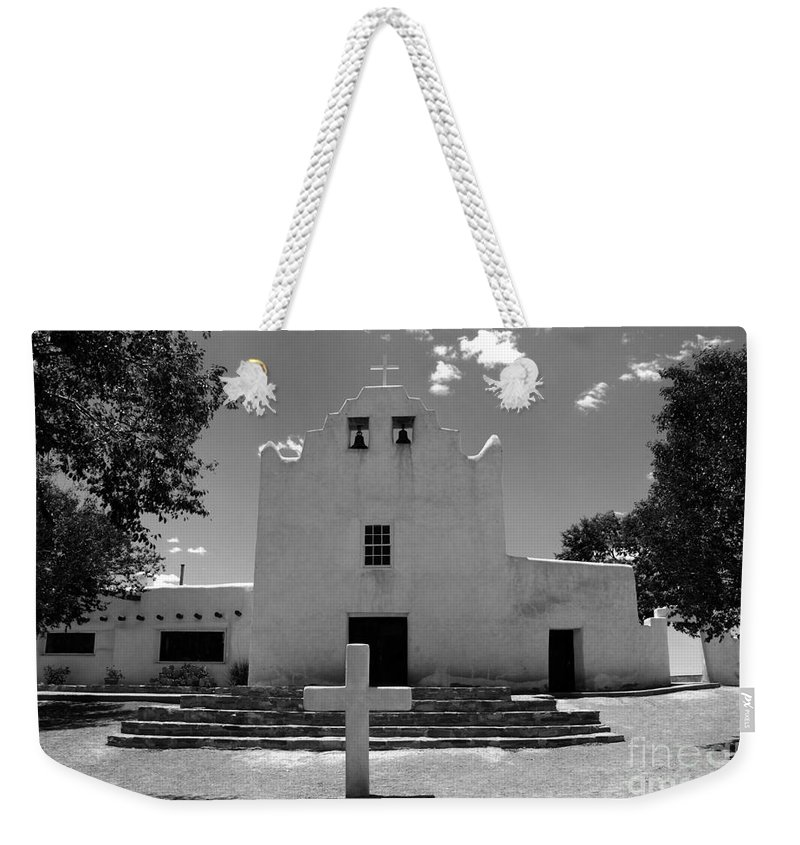Mission San Jose Weekender Tote Bag featuring the photograph Mission San Jose by David Lee Thompson