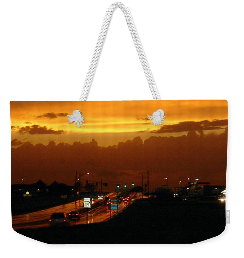 Landscape Weekender Tote Bag featuring the photograph Missouri 291 by Steve Karol