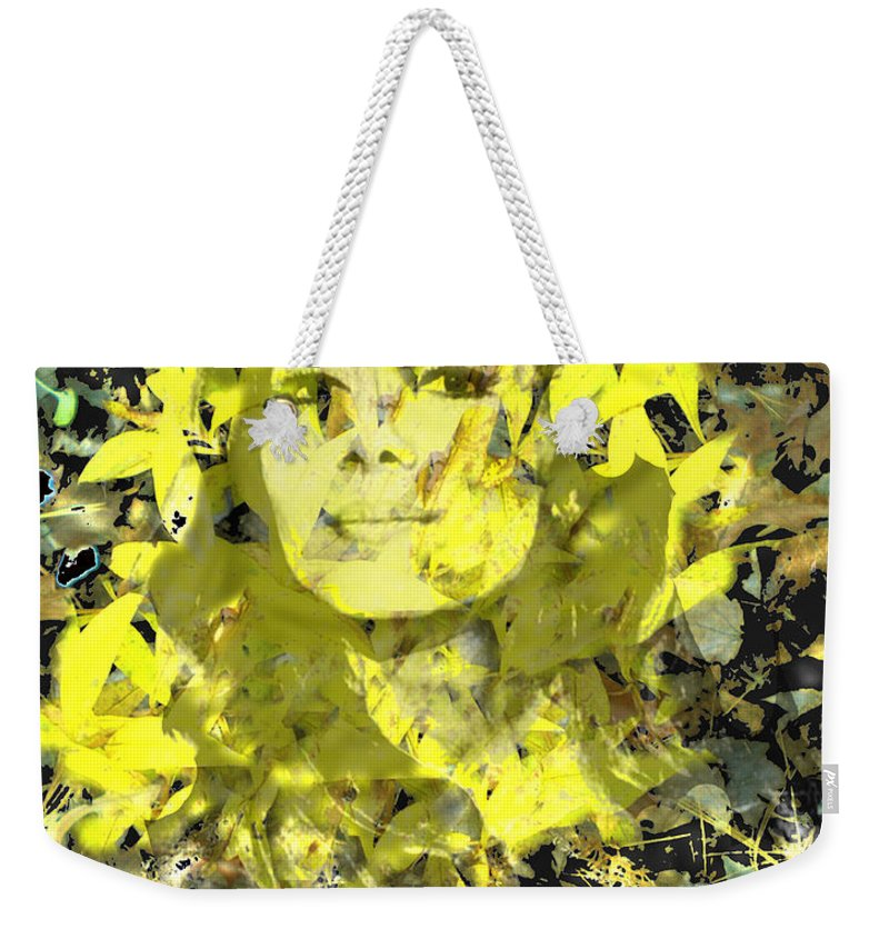 Mistress Of Autumn Weekender Tote Bag featuring the digital art Mistress of Autumn by Seth Weaver