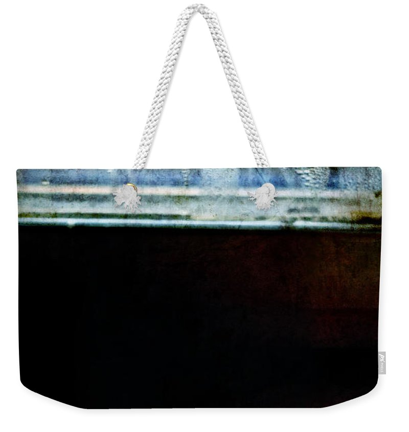 Rose Weekender Tote Bag featuring the photograph Misty Rose by Silvia Ganora