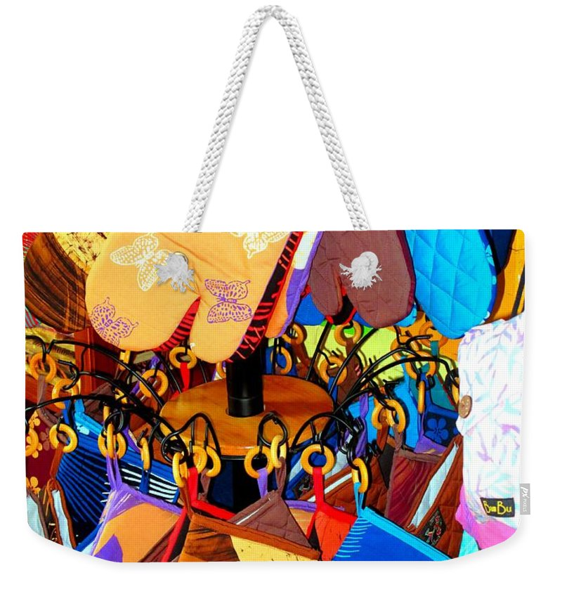 Mitts Weekender Tote Bag featuring the photograph Mitts by Ian MacDonald