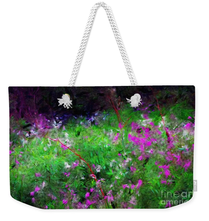 Digital Photograph Weekender Tote Bag featuring the photograph Mixed Up by David Lane
