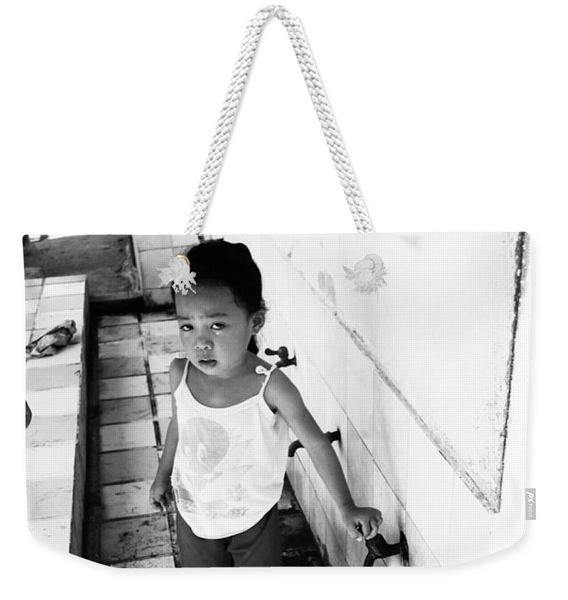 Mati Weekender Tote Bag featuring the photograph Moall by Jez C Self