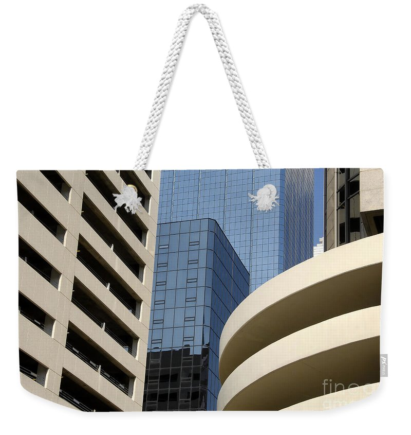 Modern Weekender Tote Bag featuring the photograph Modern Architecture by David Lee Thompson