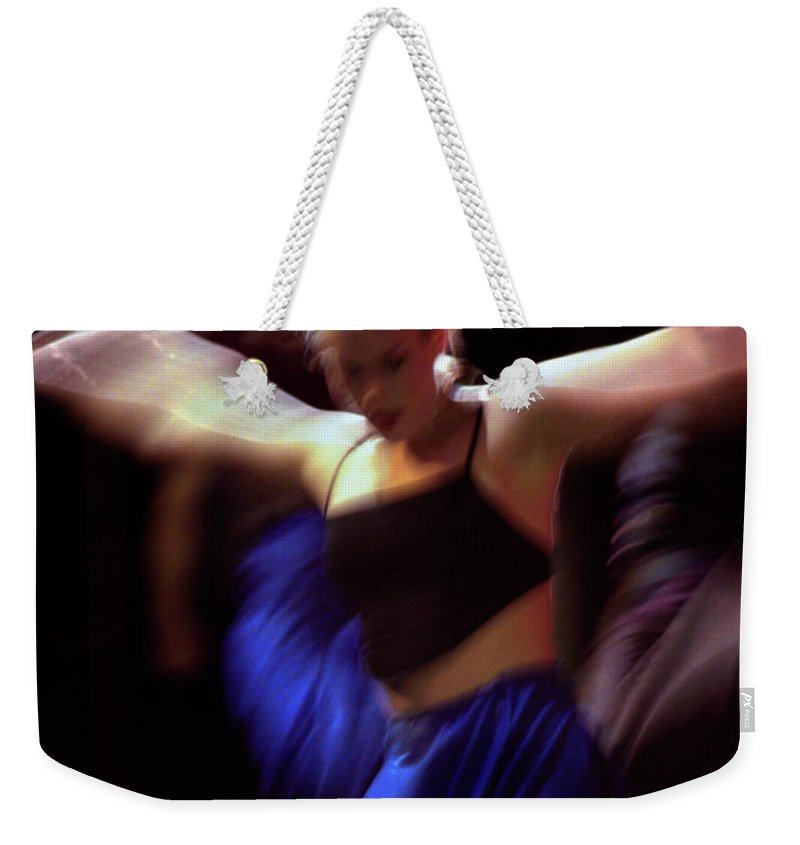 Photography Weekender Tote Bag featuring the photograph Modern Dance Motion by Frederic A Reinecke