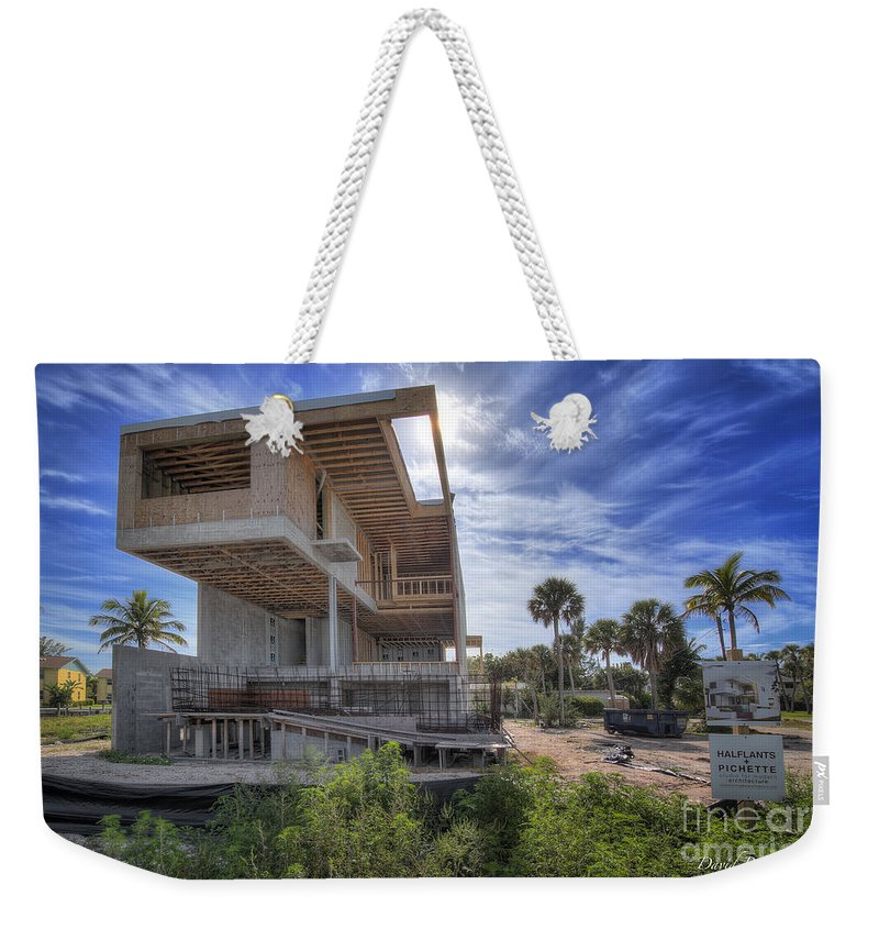 Modern House Weekender Tote Bag featuring the photograph Modern House by David B Kawchak Custom Classic Photography