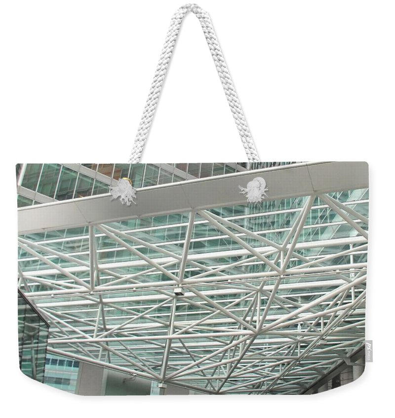 Vienna Weekender Tote Bag featuring the photograph Modern Vienna by Ian MacDonald