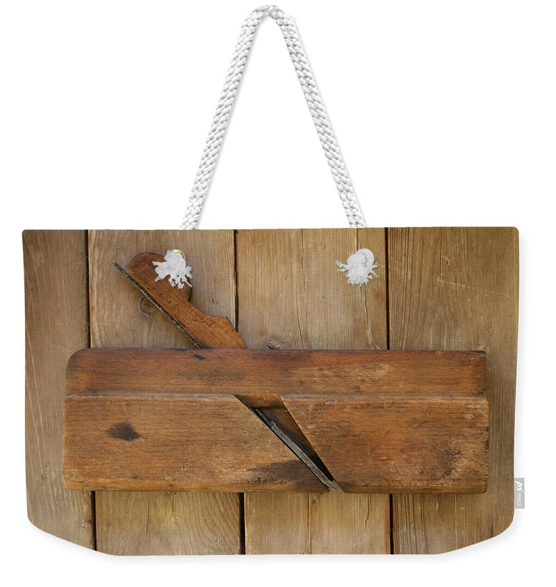 Tool Weekender Tote Bag featuring the photograph Molding Plane by Marna Edwards Flavell