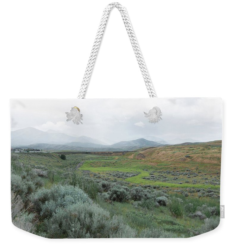 Rain Weekender Tote Bag featuring the photograph Moment by Konstantin Khanov
