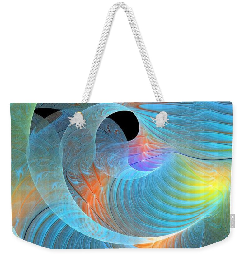 Digital Art Weekender Tote Bag featuring the digital art Moment Of Elation by Amanda Moore