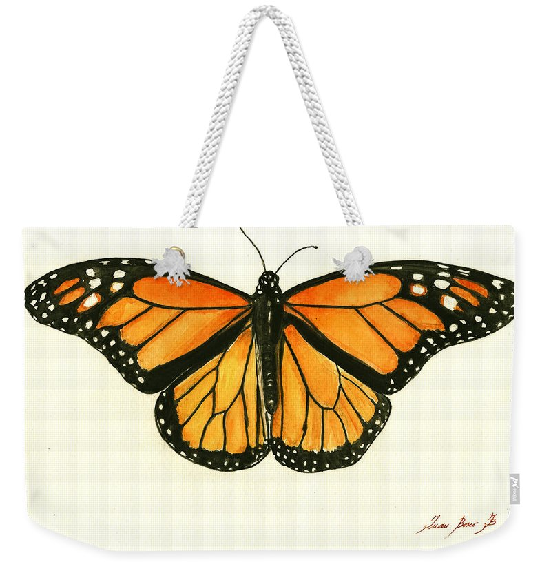 Monarch Butterfly Weekender Tote Bags