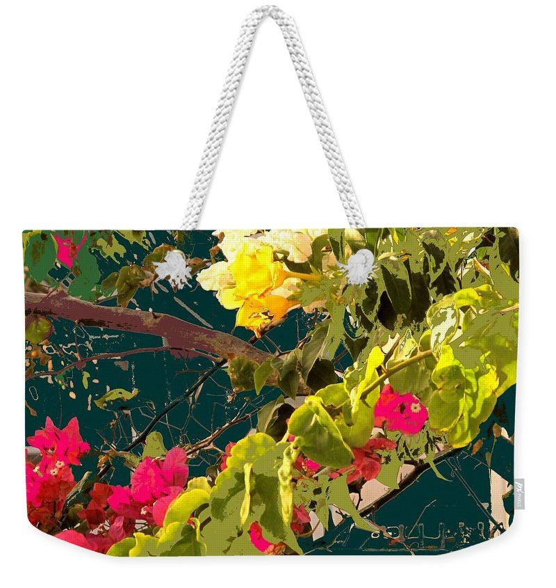 Weekender Tote Bag featuring the photograph Monica by Ian MacDonald