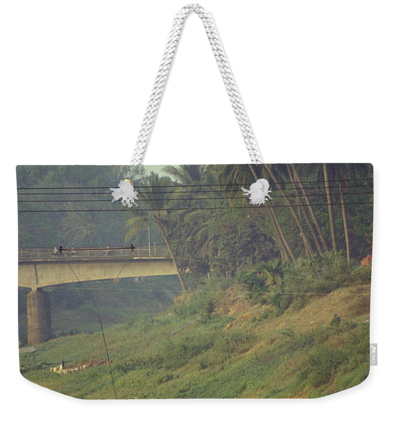 Monks Weekender Tote Bag featuring the photograph Monks - Battambang by Patrick Klauss
