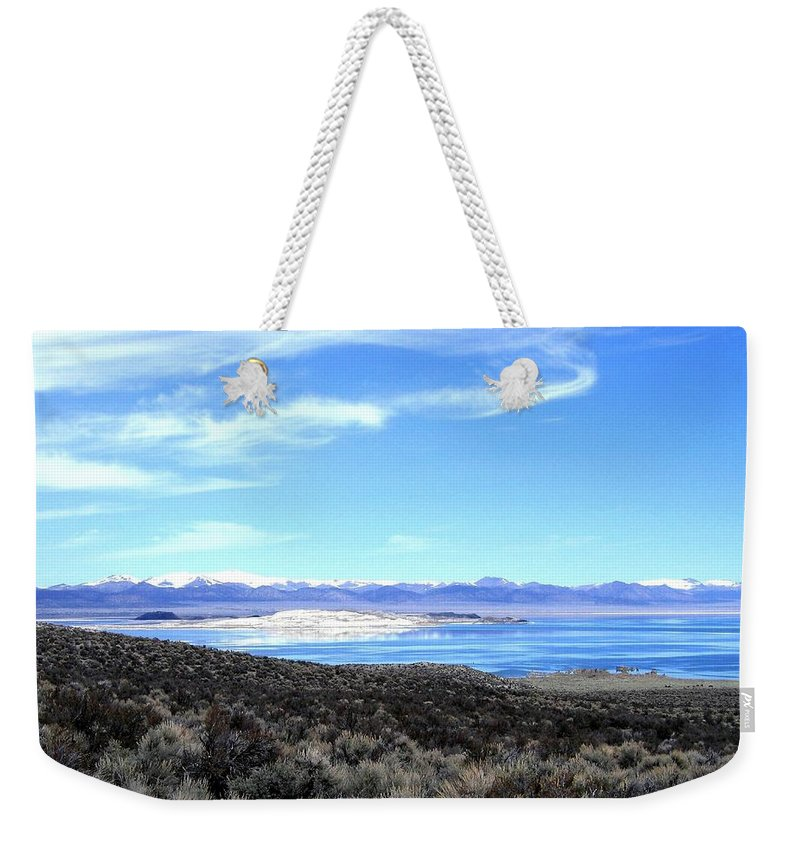 Mono Lake Weekender Tote Bag featuring the photograph Mono Lake by Will Borden