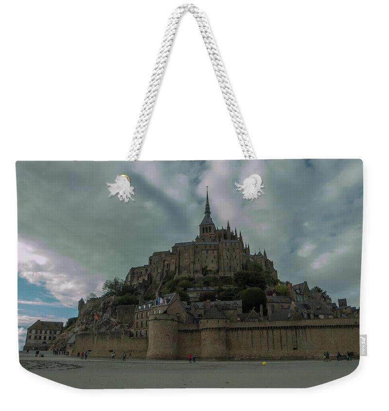 France Weekender Tote Bag featuring the photograph Mont Saint Michel 1 by Marcel Van der Stroom