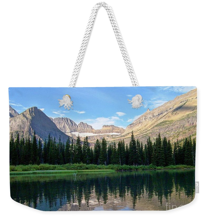 Montana Morning Weekender Tote Bag featuring the photograph Montana Morning by Greg Hammond