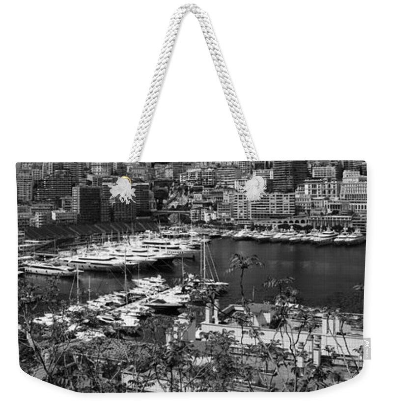 Monte Carlo Weekender Tote Bag featuring the photograph Monte Carlo 10b by Andrew Fare