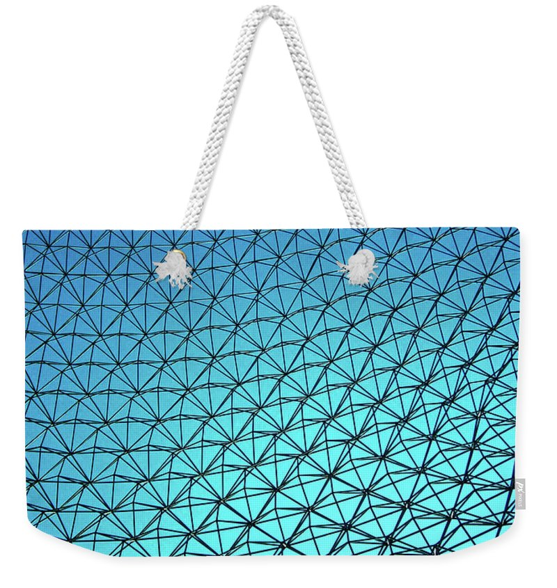 North America Weekender Tote Bag featuring the photograph Montreal Biosphere by Juergen Weiss