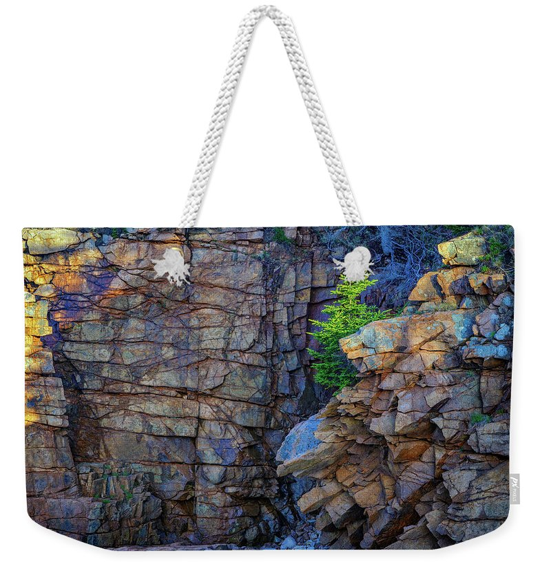 Monument Cove Weekender Tote Bag featuring the photograph Monument Cove I by Rick Berk