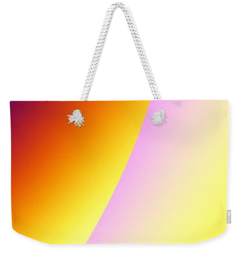Digital Art Weekender Tote Bag featuring the digital art Moon II by Dragica Micki Fortuna