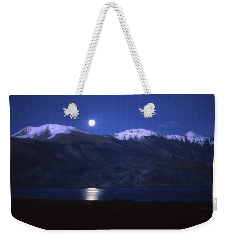 Moon Weekender Tote Bag featuring the photograph Moonlight Sonata by Patrick Klauss