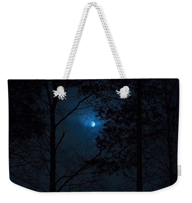 Lehtokukka Weekender Tote Bag featuring the photograph Moonshine 08 by Jouko Lehto