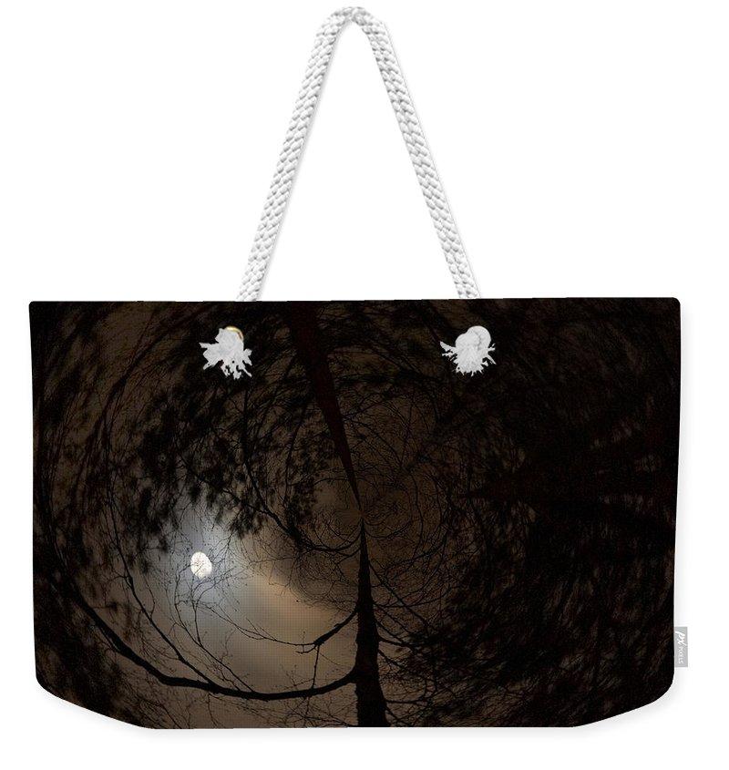 Lehtokukka Weekender Tote Bag featuring the photograph Moonshine 13 Fishy by Jouko Lehto