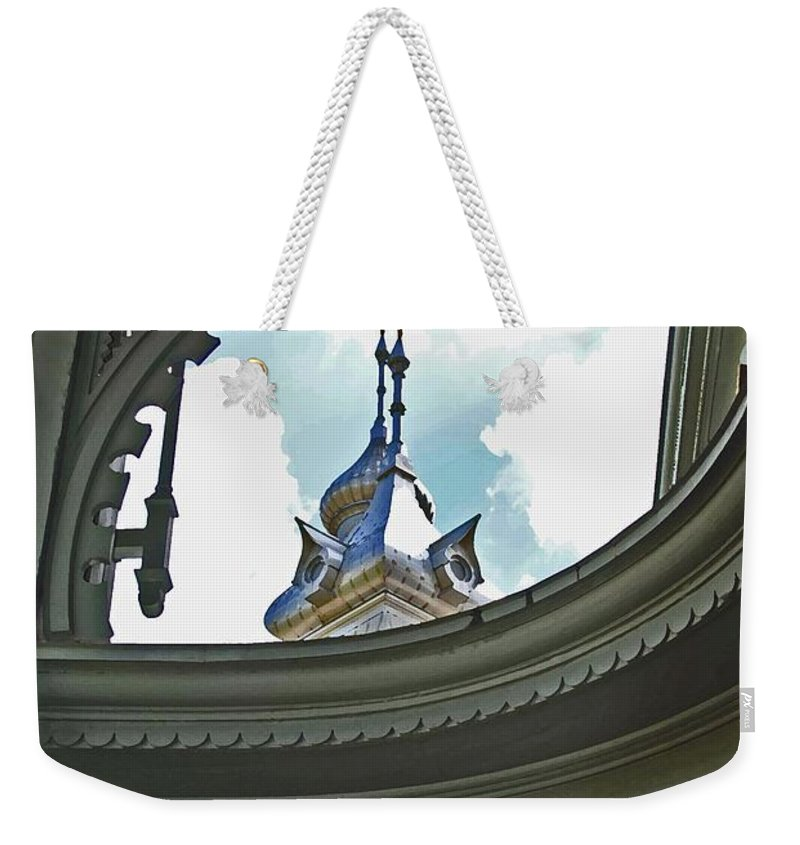 University Of Tampa Weekender Tote Bag featuring the photograph Moorish Gingerbread by Jost Houk