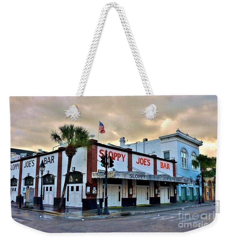 Morning After Weekender Tote Bag featuring the photograph Morning After 2 by Lisa Renee Ludlum