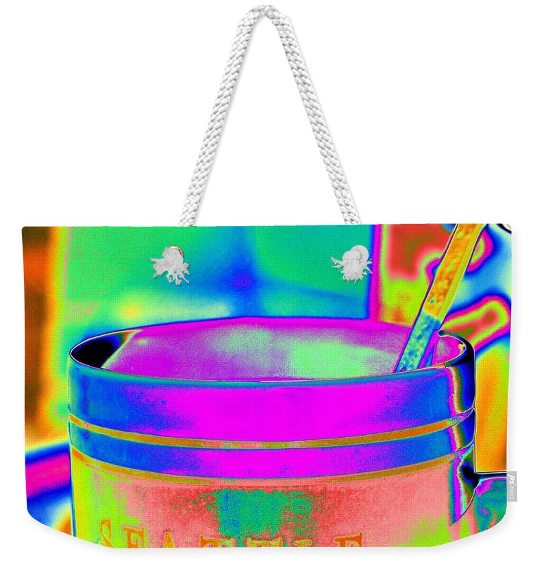Morning Weekender Tote Bag featuring the photograph Morning Break by Tim Allen
