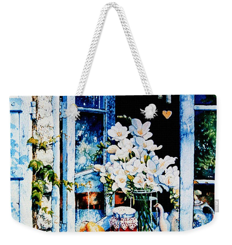Morning Delight Weekender Tote Bag featuring the painting Morning Delight by Hanne Lore Koehler