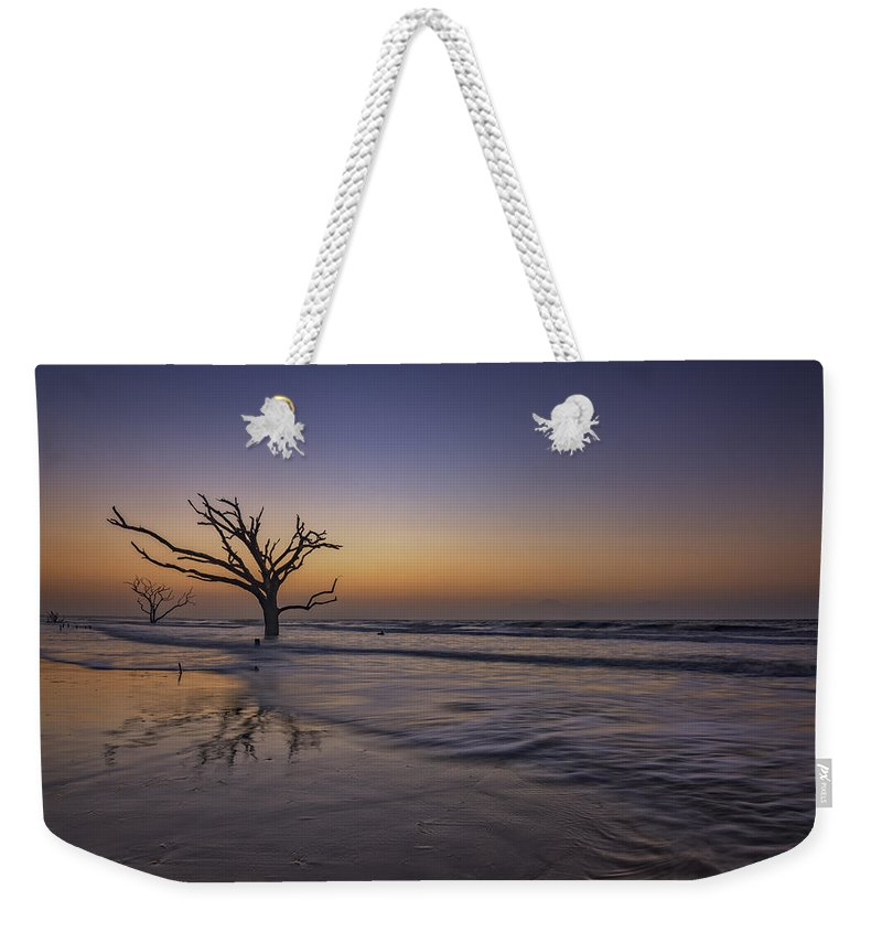 Sunrise Weekender Tote Bag featuring the photograph Morning Glow On Edisto Island by Rick Berk