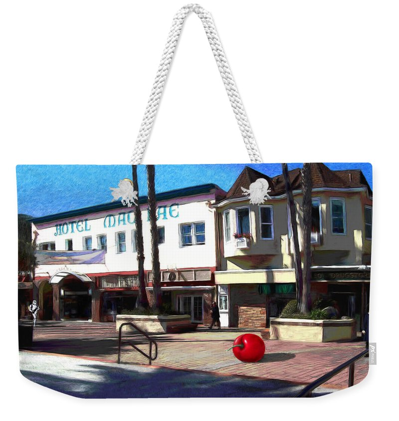 Catalina Weekender Tote Bag featuring the painting Morning Light by Snake Jagger