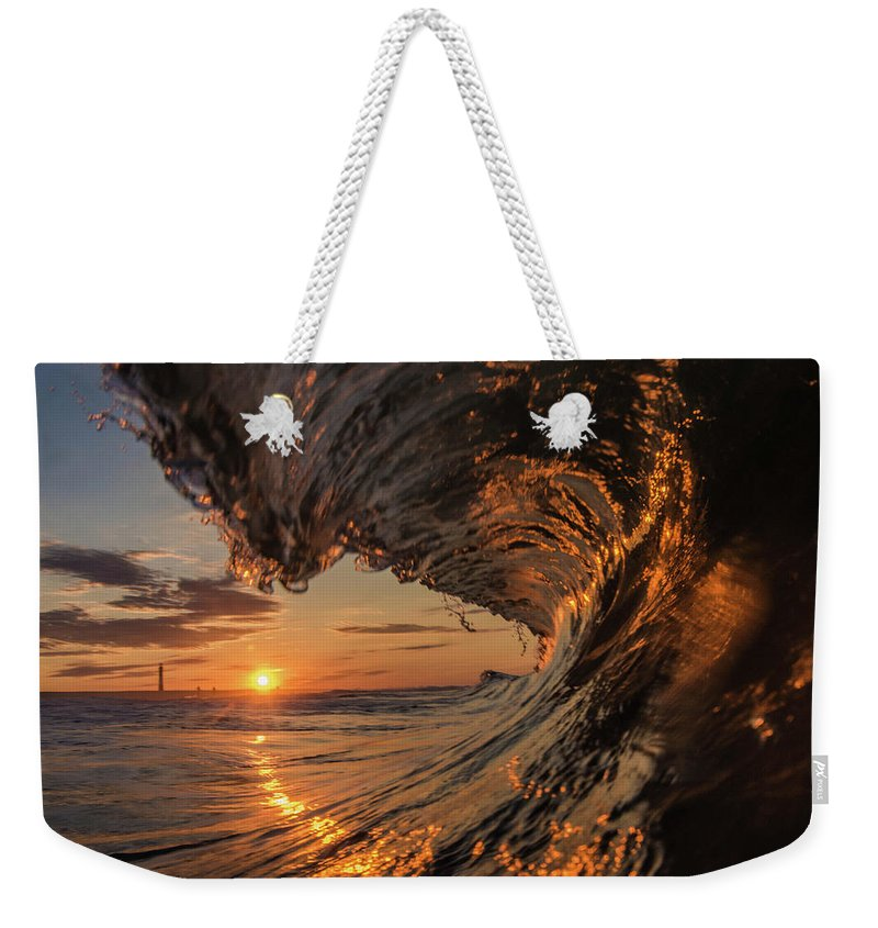 Weekender Tote Bag featuring the photograph Morning Sunrise by Ronnie Walker