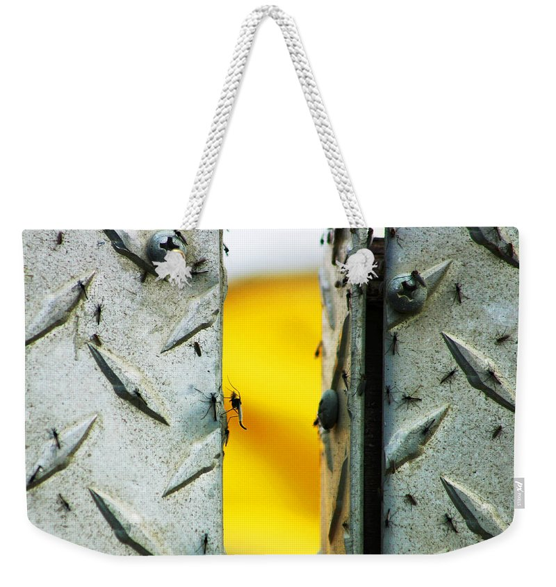 Mosquiros Weekender Tote Bag featuring the photograph Mosquitos by Anthony Jones